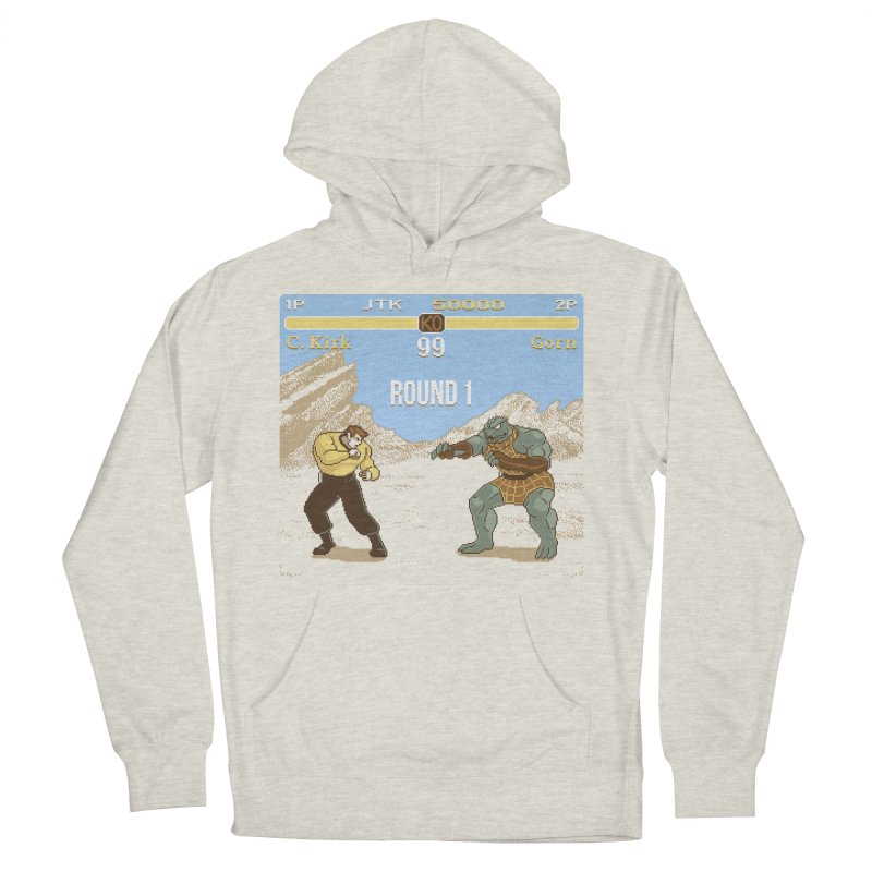 Arena Fighter Men's French Terry Pullover Hoody by Tom Burns