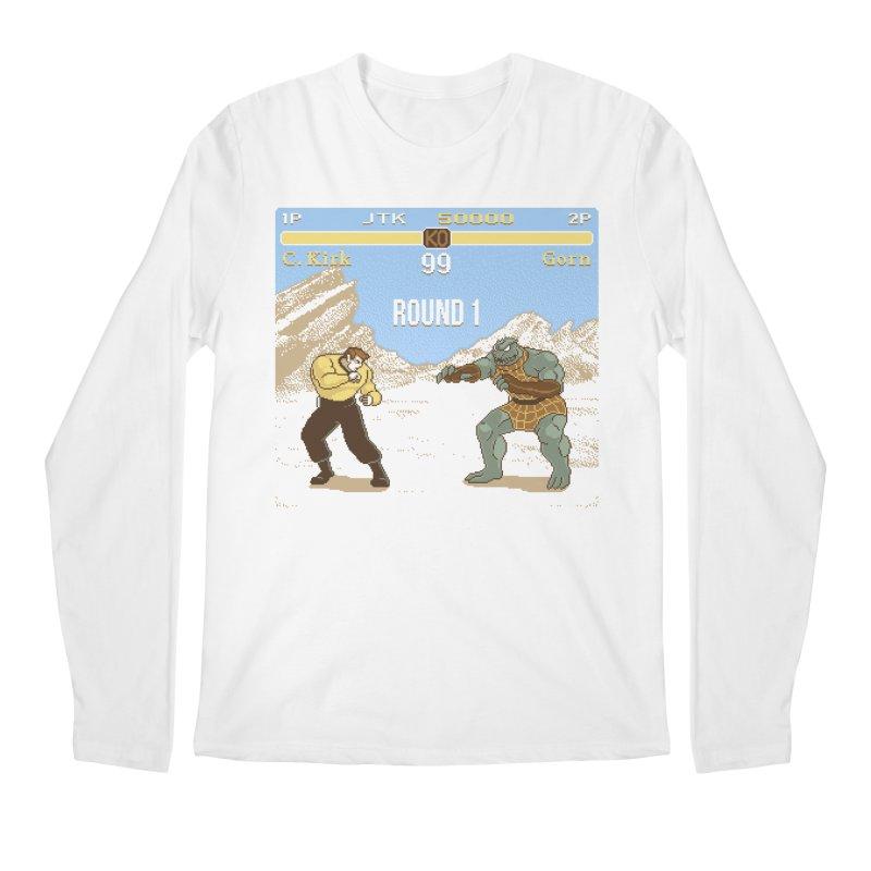 Arena Fighter Men's Longsleeve T-Shirt by Tom Burns