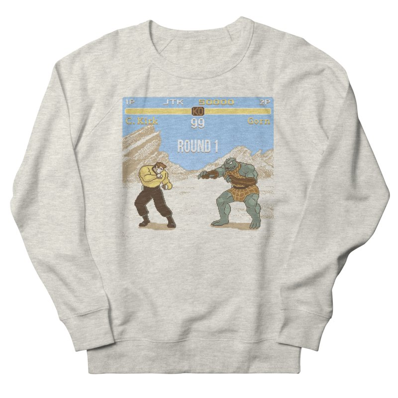 Arena Fighter Men's French Terry Sweatshirt by Tom Burns