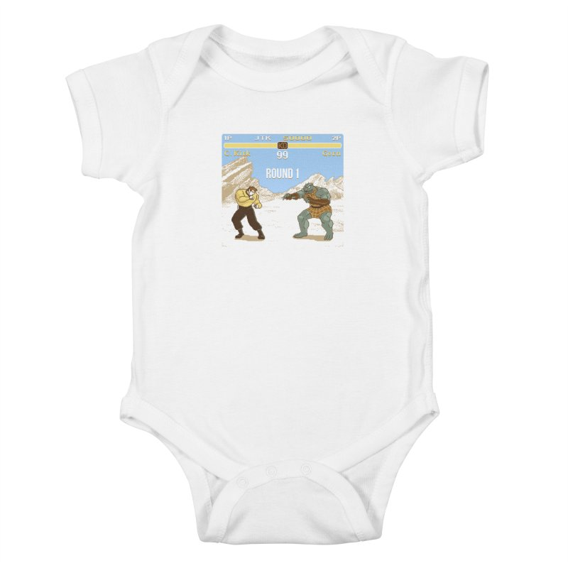 Arena Fighter Kids Baby Bodysuit by Tom Burns