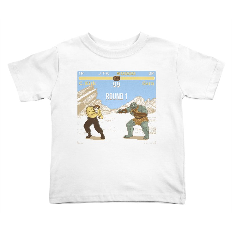 Arena Fighter Kids Toddler T-Shirt by Tom Burns