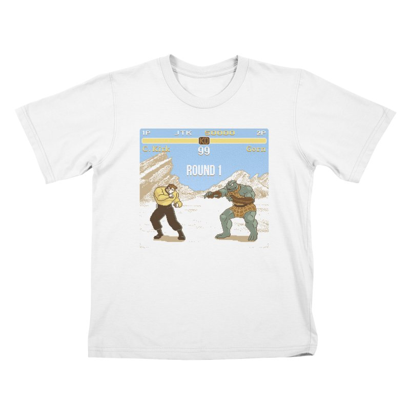 Arena Fighter Kids T-Shirt by Tom Burns
