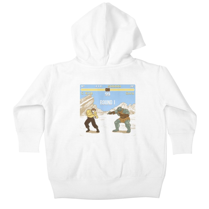 Arena Fighter Kids Baby Zip-Up Hoody by Tom Burns