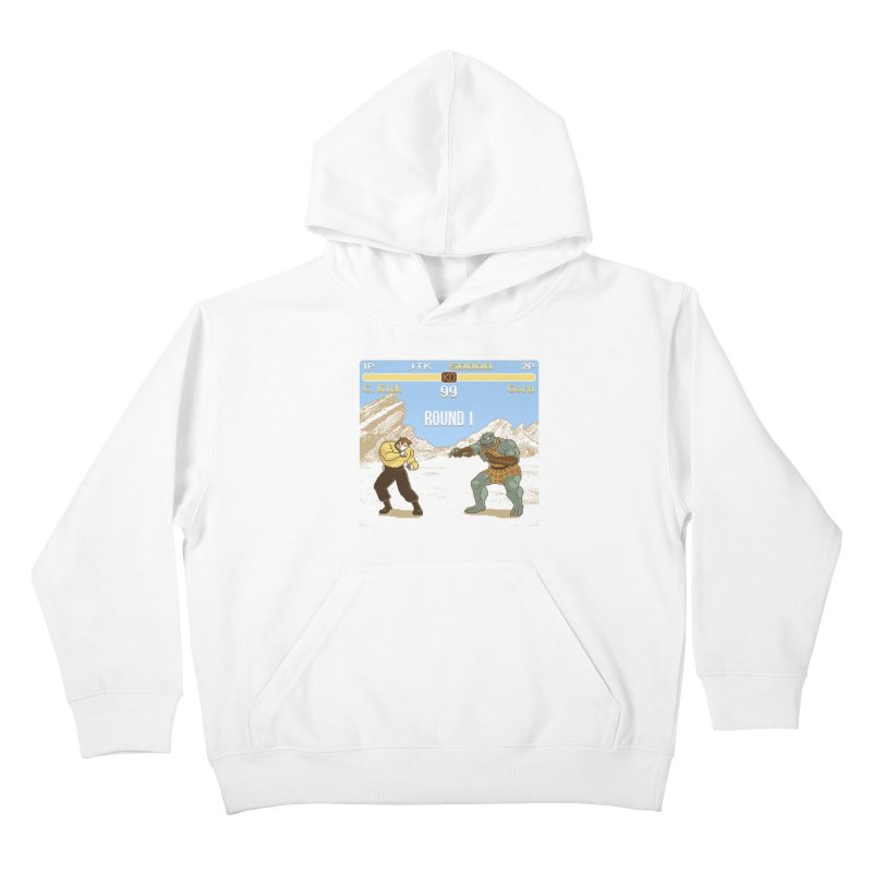 Arena Fighter Kids Pullover Hoody by Tom Burns