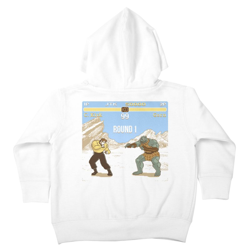 Arena Fighter Kids Toddler Zip-Up Hoody by Tom Burns