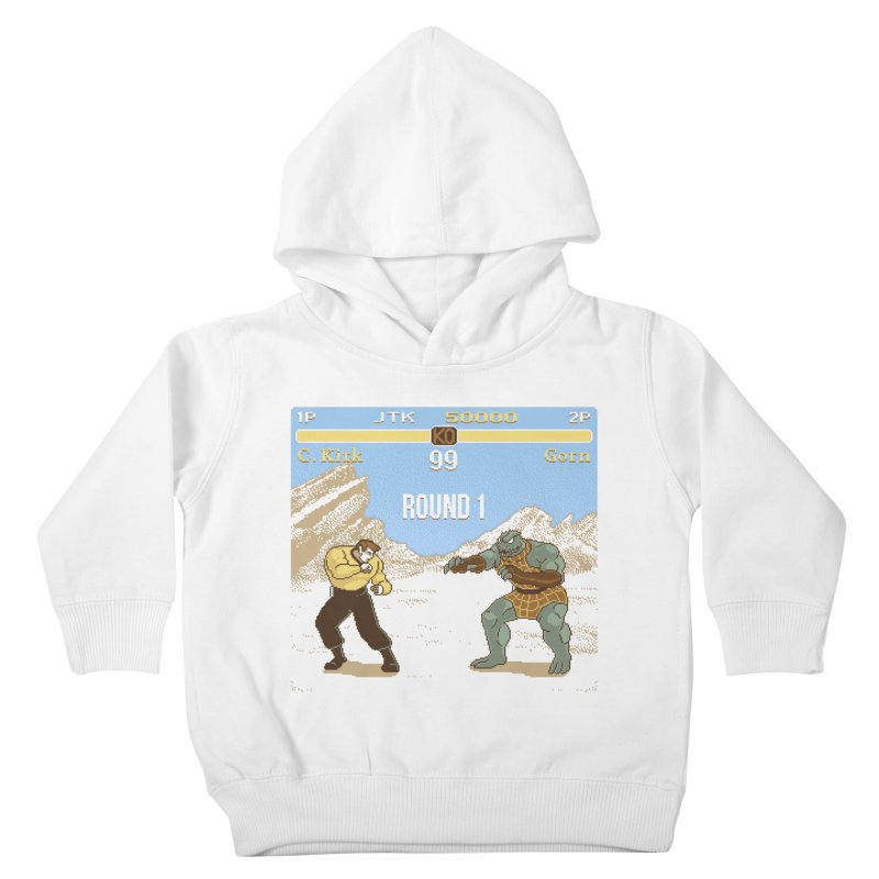 Arena Fighter Kids Toddler Pullover Hoody by Tom Burns