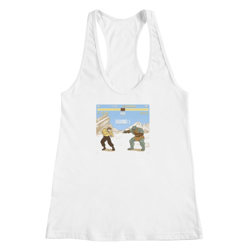 Arena Fighter Women's Racerback Tank by Tom Burns