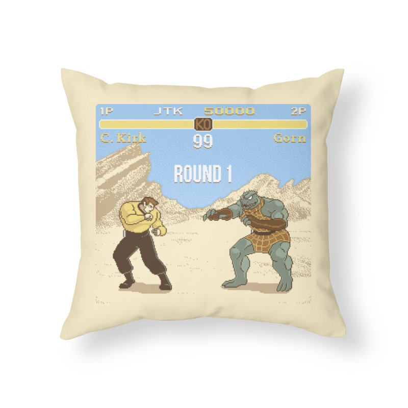 Arena Fighter Home Throw Pillow by Tom Burns