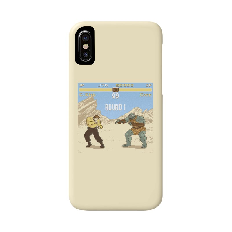 Arena Fighter Accessories Phone Case by Tom Burns