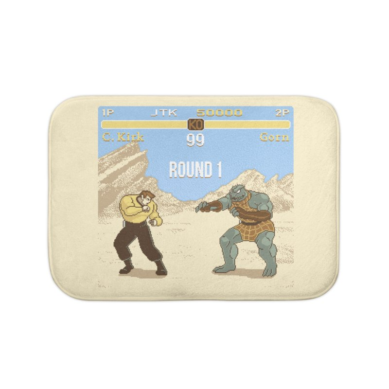 Arena Fighter Home Bath Mat by Tom Burns