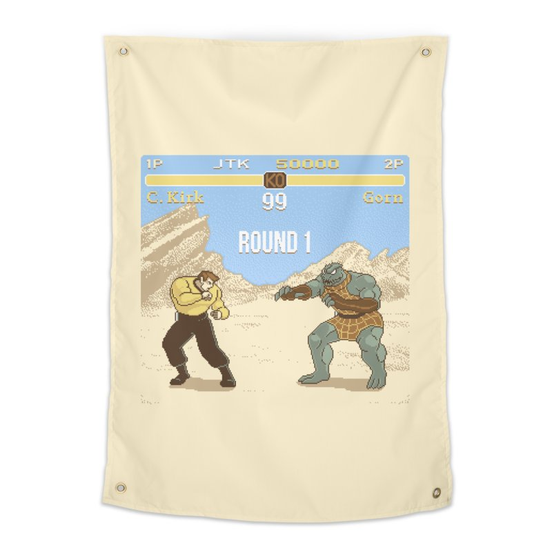 Arena Fighter Home Tapestry by Tom Burns