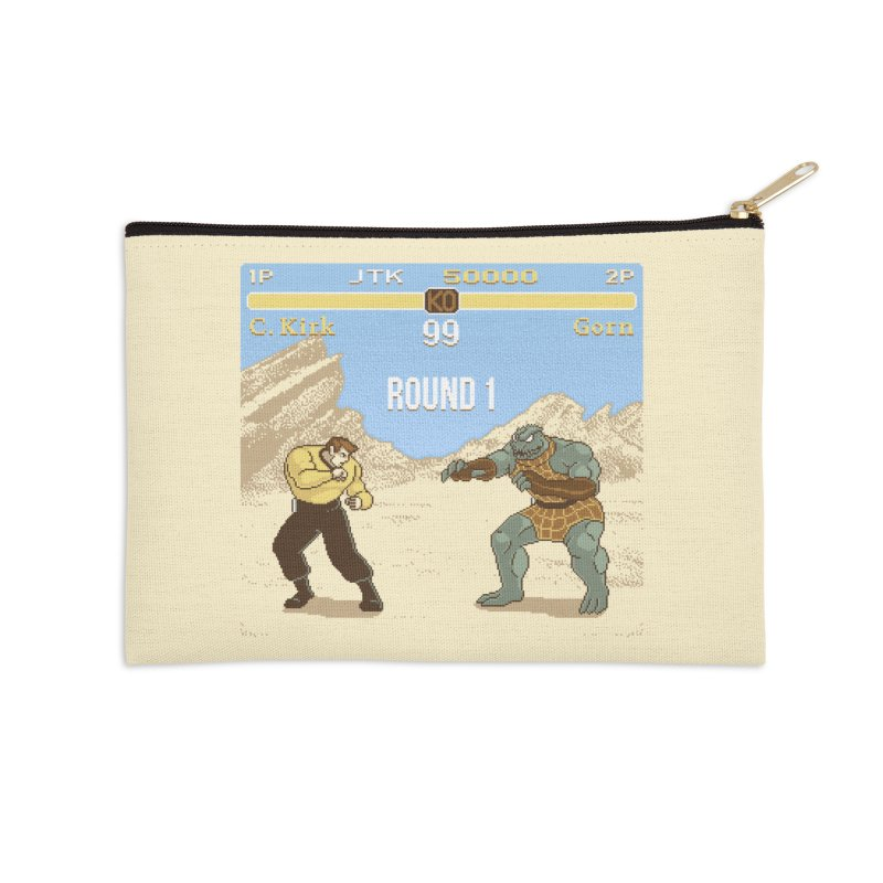 Arena Fighter Accessories Zip Pouch by Tom Burns