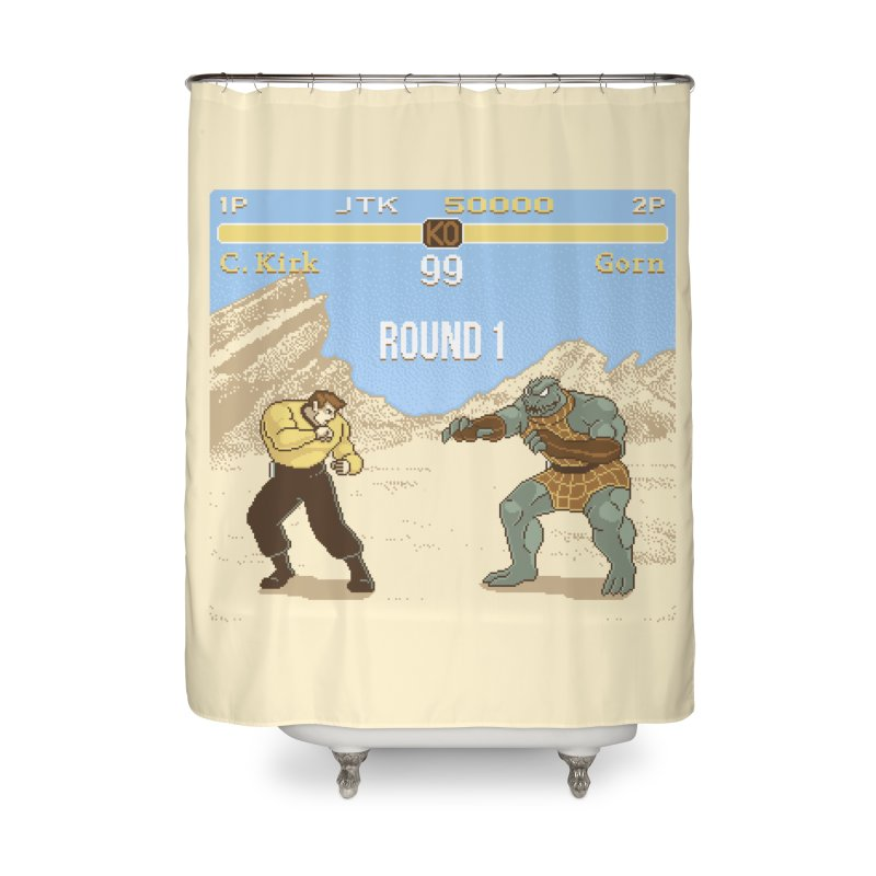 Arena Fighter Home Shower Curtain by Tom Burns