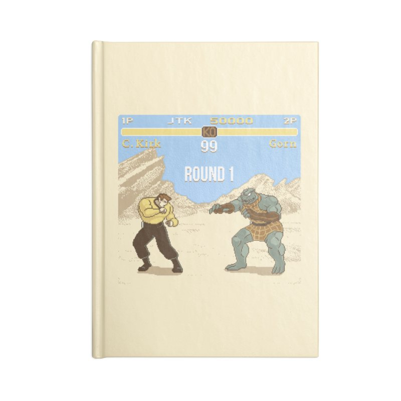 Arena Fighter Accessories Notebook by Tom Burns