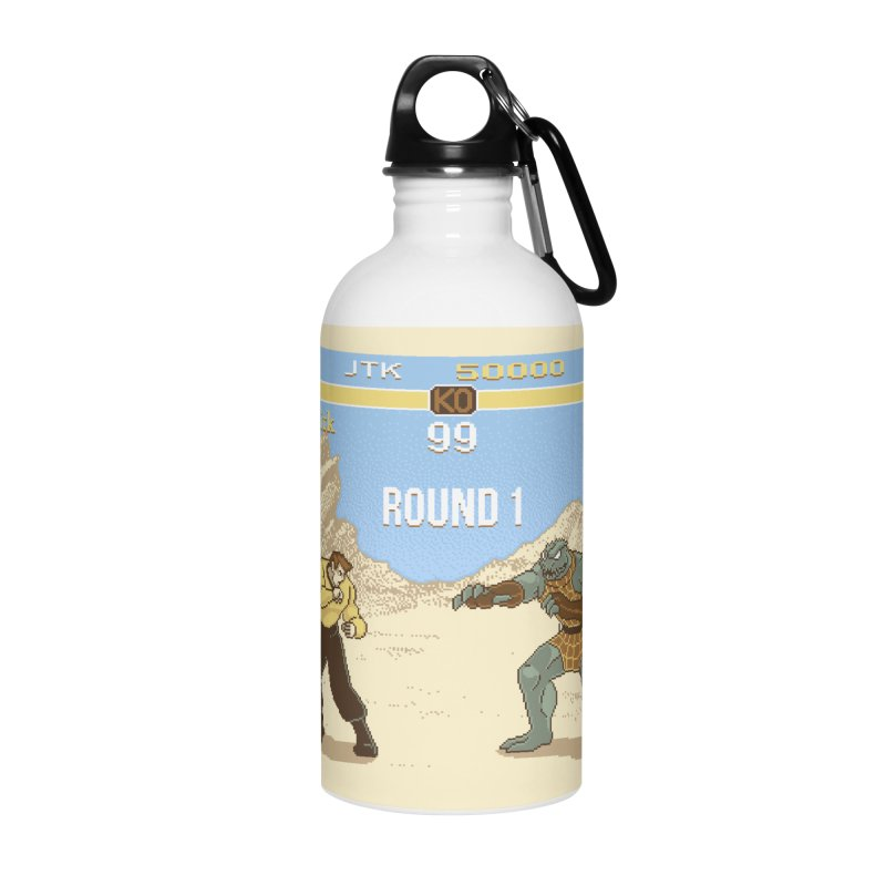 Arena Fighter Accessories Water Bottle by Tom Burns