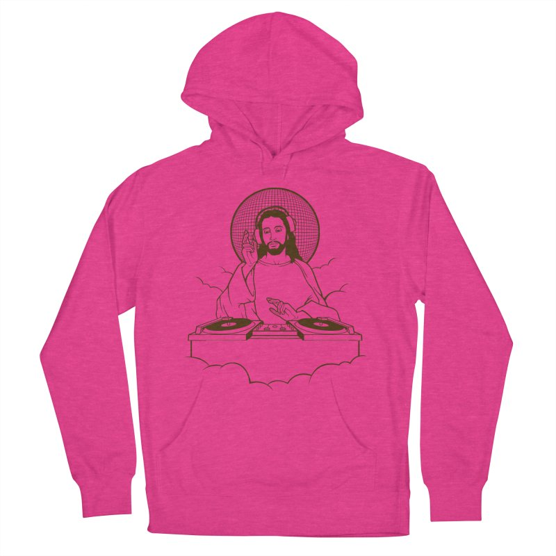 WWDJJD? Women's French Terry Pullover Hoody by Tom Burns
