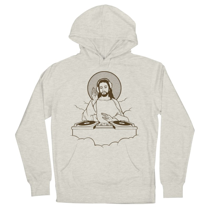 WWDJJD? Men's French Terry Pullover Hoody by Tom Burns