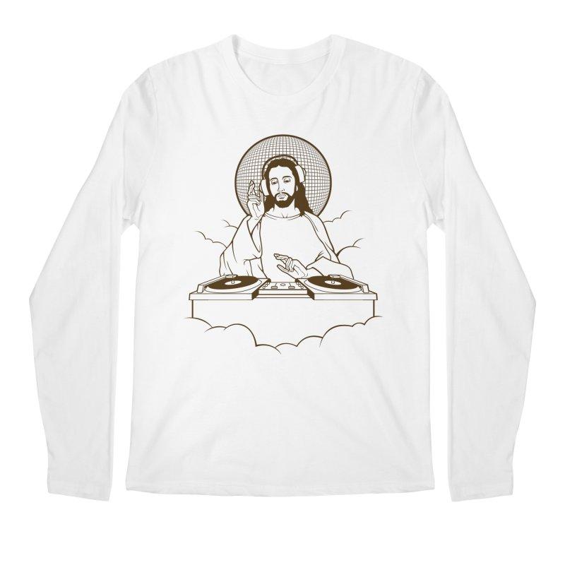 WWDJJD? Men's Regular Longsleeve T-Shirt by Tom Burns