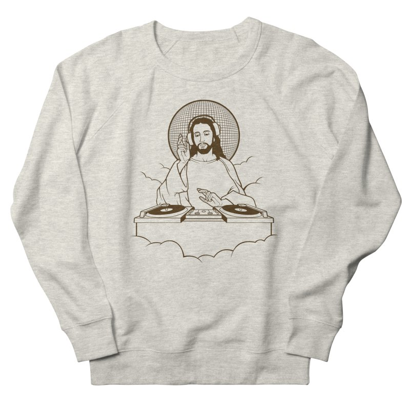 WWDJJD? Men's French Terry Sweatshirt by Tom Burns