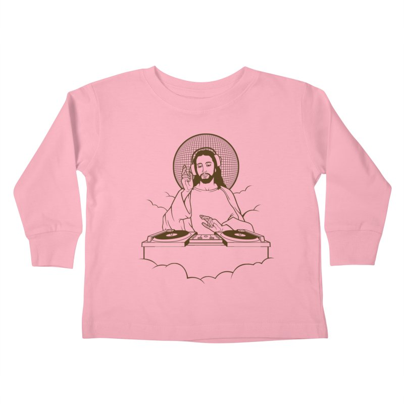 WWDJJD? Kids Toddler Longsleeve T-Shirt by Tom Burns