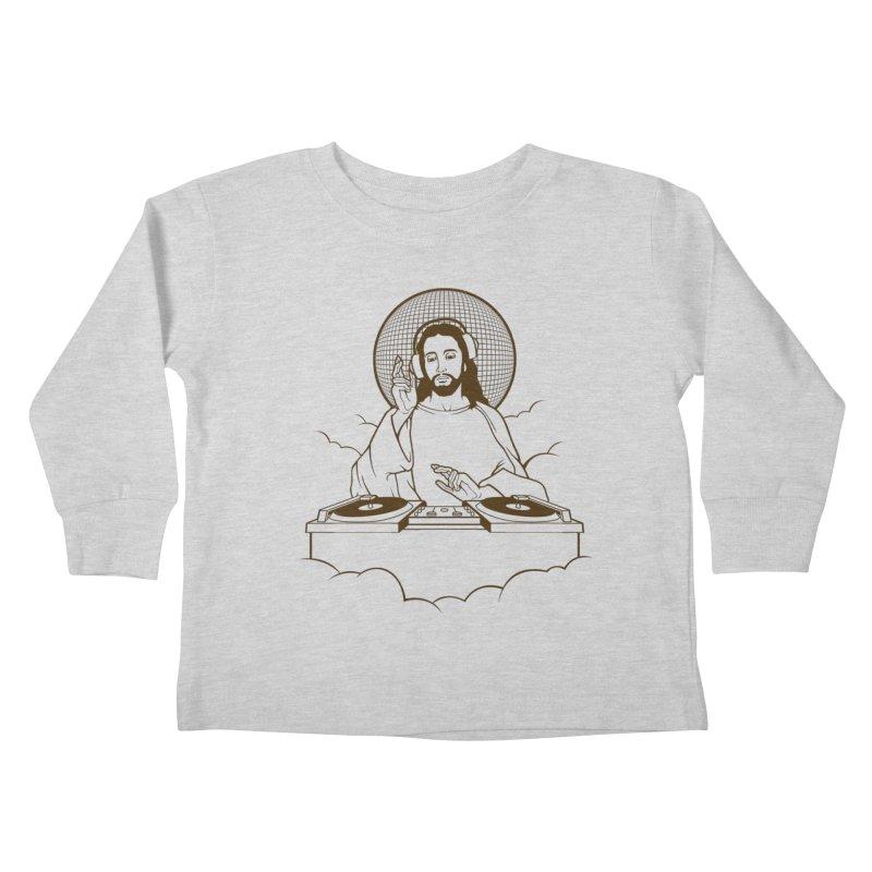 WWDJJD? Kids Toddler Longsleeve T-Shirt by Tom Burns