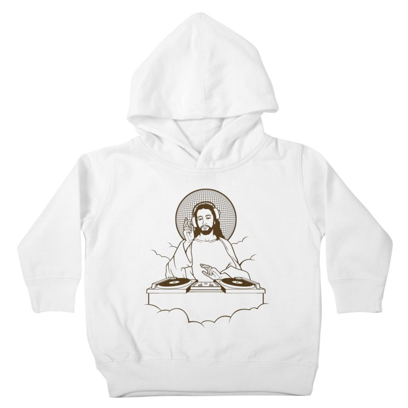 WWDJJD? Kids Toddler Pullover Hoody by Tom Burns