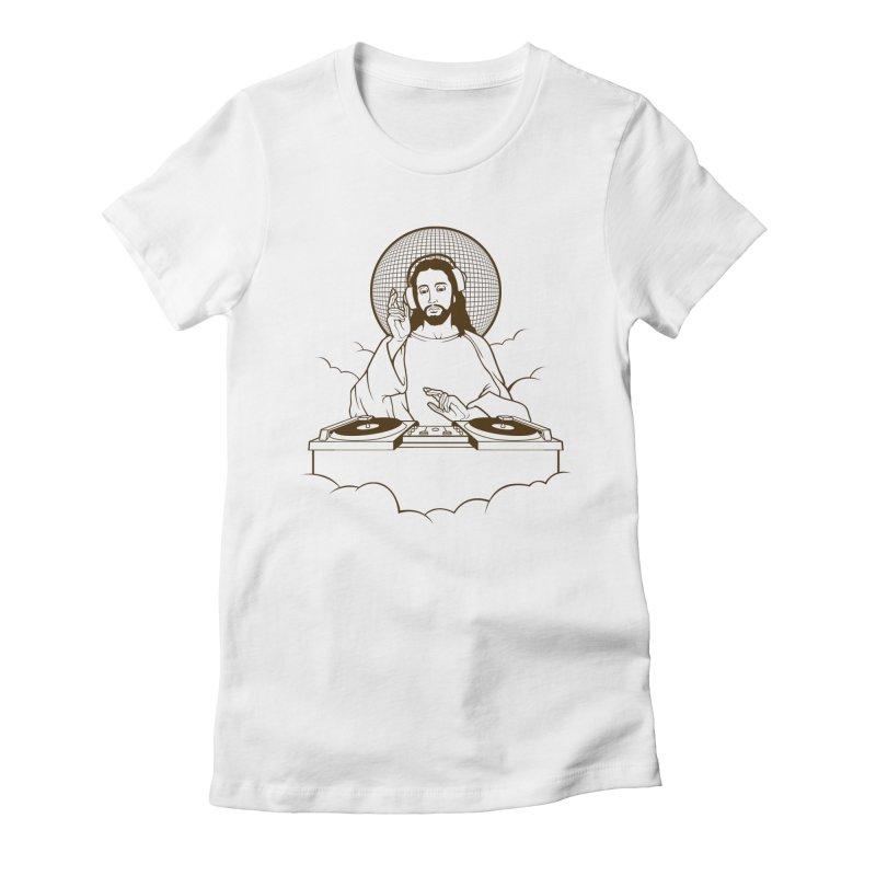 WWDJJD? Women's Fitted T-Shirt by Tom Burns