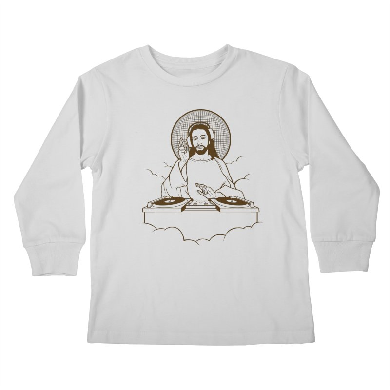 WWDJJD? Kids Longsleeve T-Shirt by Tom Burns