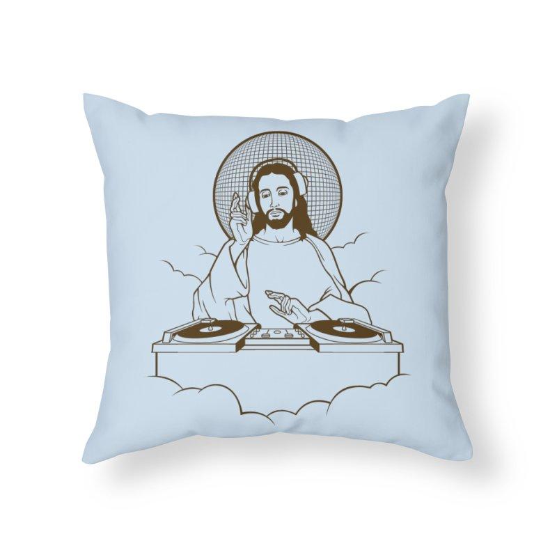 WWDJJD? Home Throw Pillow by Tom Burns