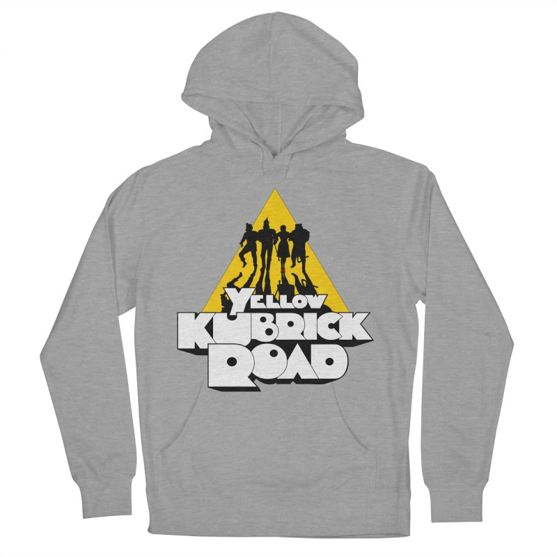 Follow the Yellow Kubrick Road Men's Pullover Hoody by Tom Burns