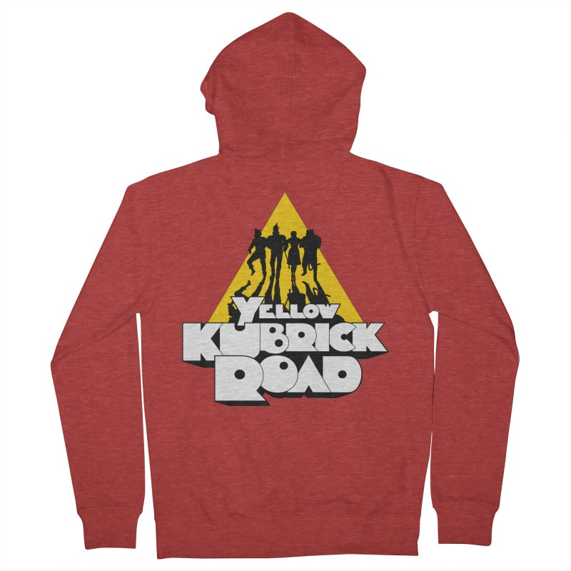 Follow the Yellow Kubrick Road Women's Zip-Up Hoody by Tom Burns