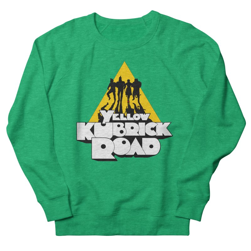 Follow the Yellow Kubrick Road Women's Sweatshirt by Tom Burns