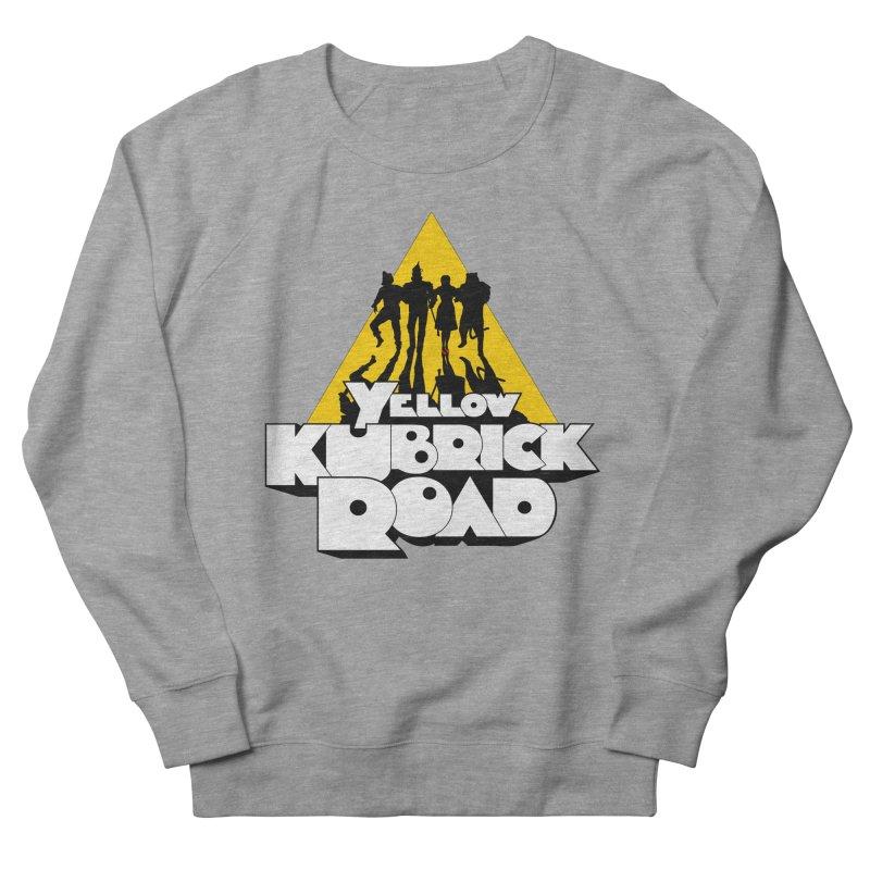 Follow the Yellow Kubrick Road Women's French Terry Sweatshirt by Tom Burns