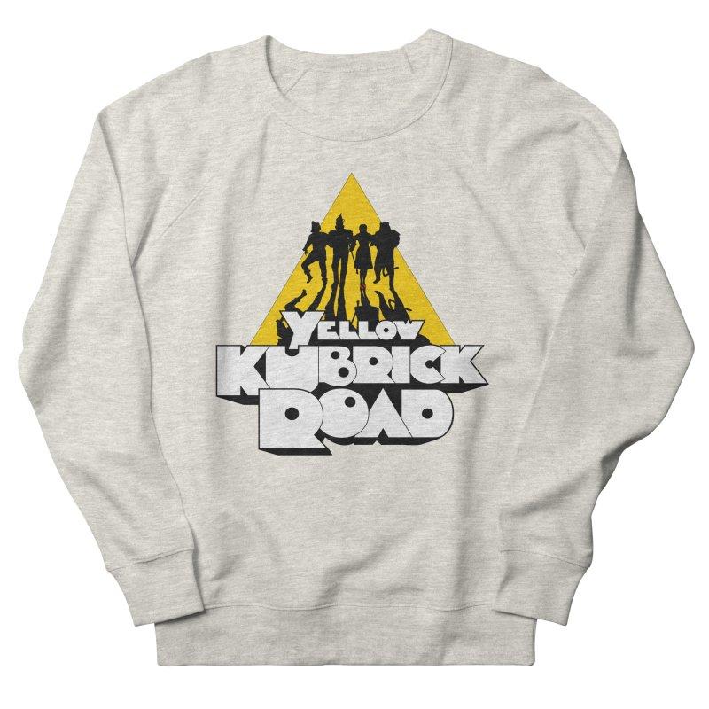 Follow the Yellow Kubrick Road Women's Sweatshirt by Tom Burns