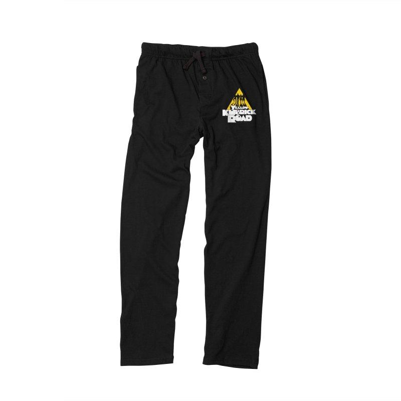 Follow the Yellow Kubrick Road Men's Lounge Pants by Tom Burns