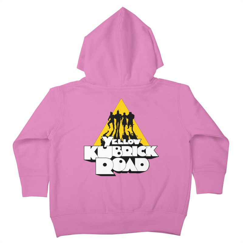 Follow the Yellow Kubrick Road Kids Toddler Zip-Up Hoody by Tom Burns