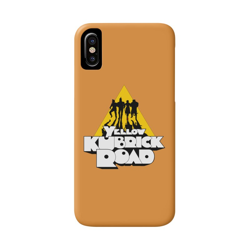 Follow the Yellow Kubrick Road Accessories Phone Case by Tom Burns
