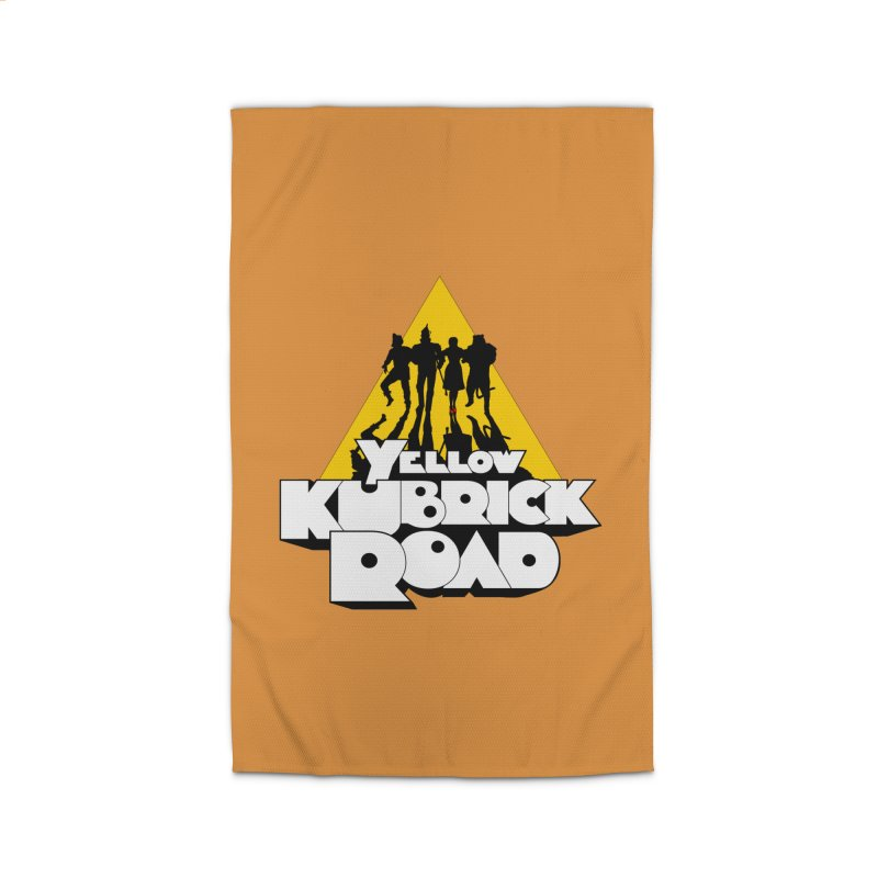 Follow the Yellow Kubrick Road Home Rug by Tom Burns