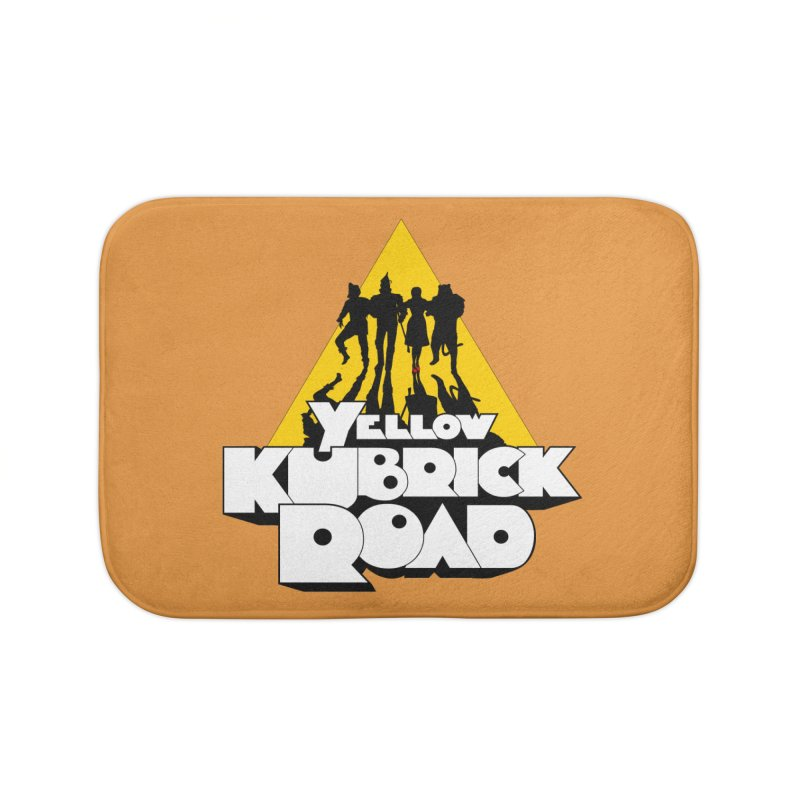 Follow the Yellow Kubrick Road Home Bath Mat by Tom Burns