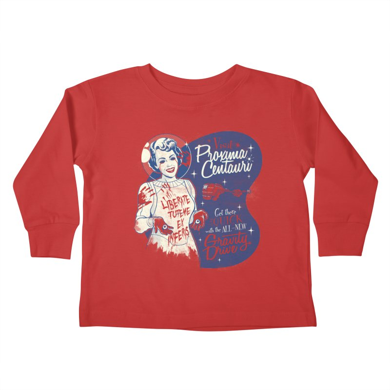 You Don't Need Eyes To See Kids Toddler Longsleeve T-Shirt by Tom Burns