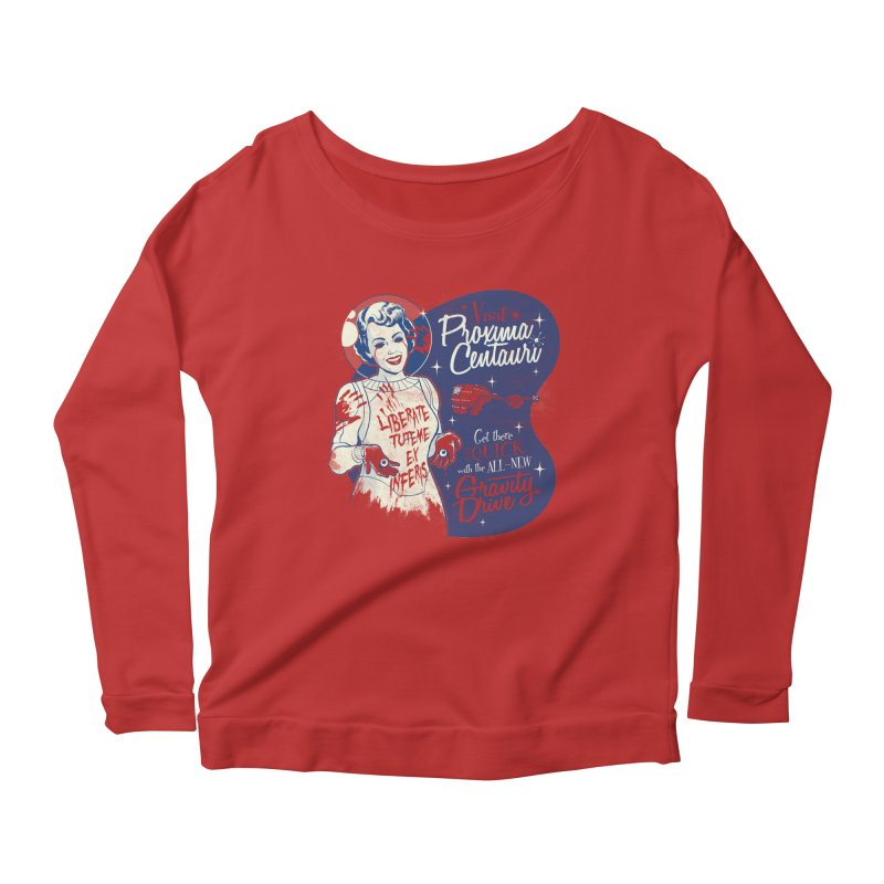 You Don't Need Eyes To See Women's Longsleeve Scoopneck  by Tom Burns
