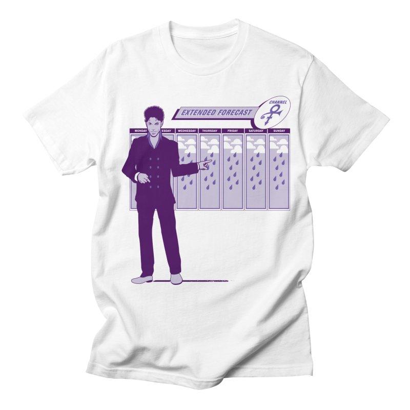 Extended Forecast Men's Regular T-Shirt by Tom Burns