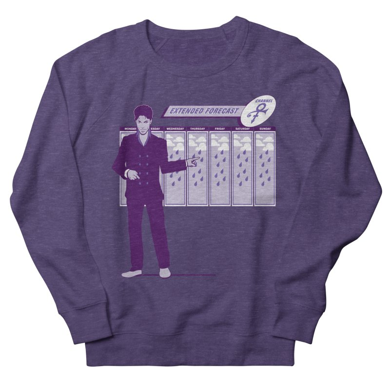 Extended Forecast Women's Sweatshirt by Tom Burns