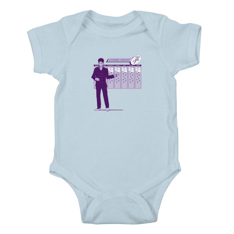 Extended Forecast Kids Baby Bodysuit by Tom Burns