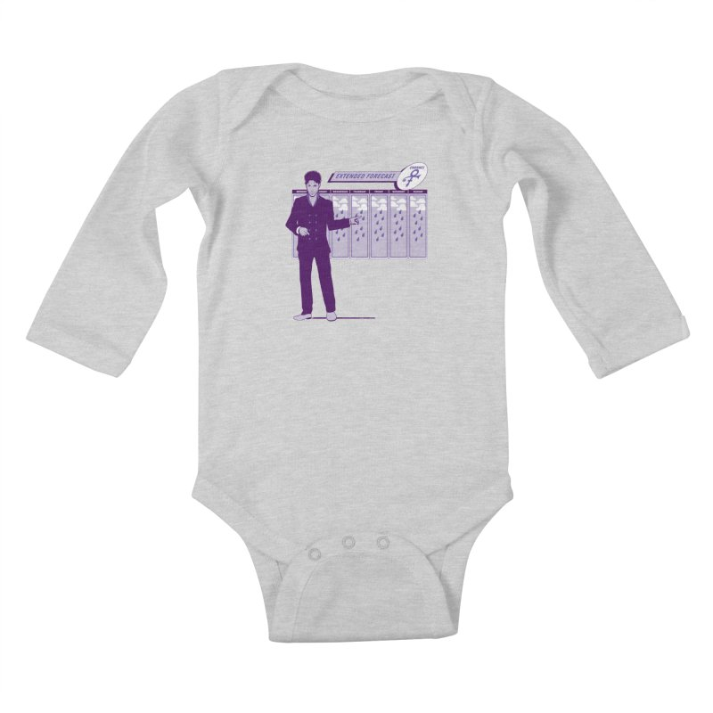 Extended Forecast Kids Baby Longsleeve Bodysuit by Tom Burns