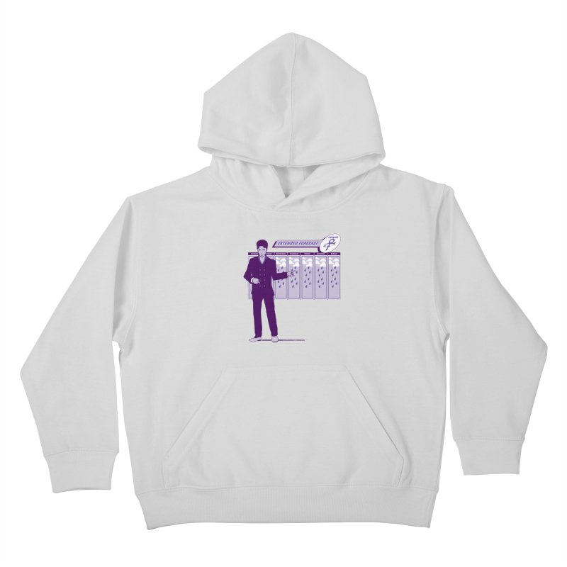 Extended Forecast Kids Pullover Hoody by Tom Burns