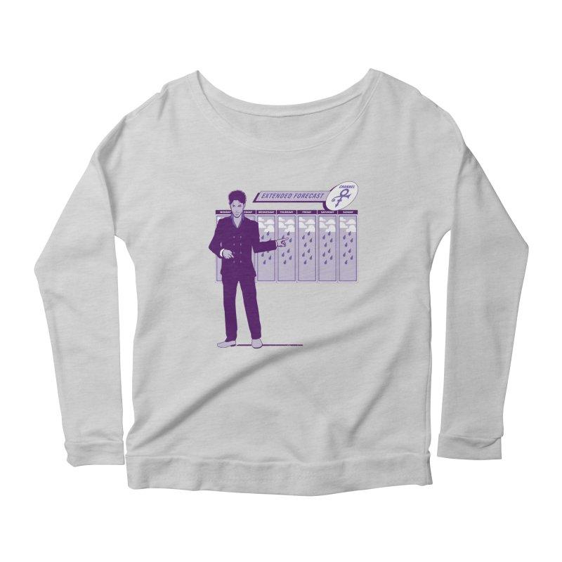 Extended Forecast Women's Scoop Neck Longsleeve T-Shirt by Tom Burns