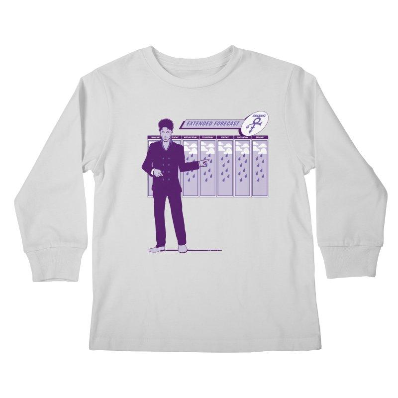 Extended Forecast Kids Longsleeve T-Shirt by Tom Burns