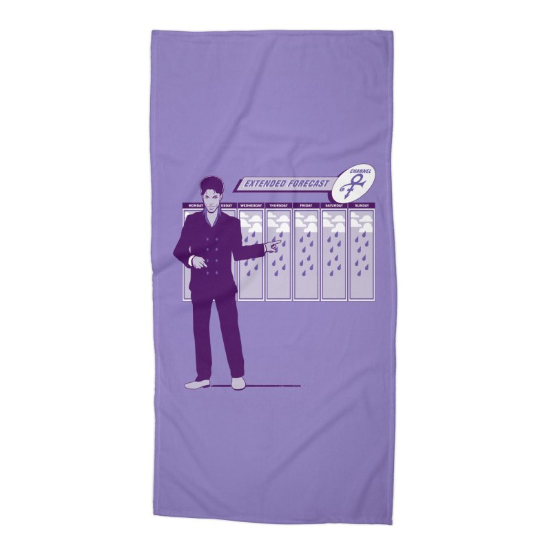Extended Forecast Accessories Beach Towel by Tom Burns