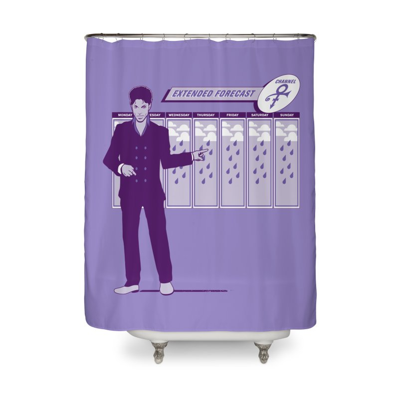 Extended Forecast Home Shower Curtain by Tom Burns